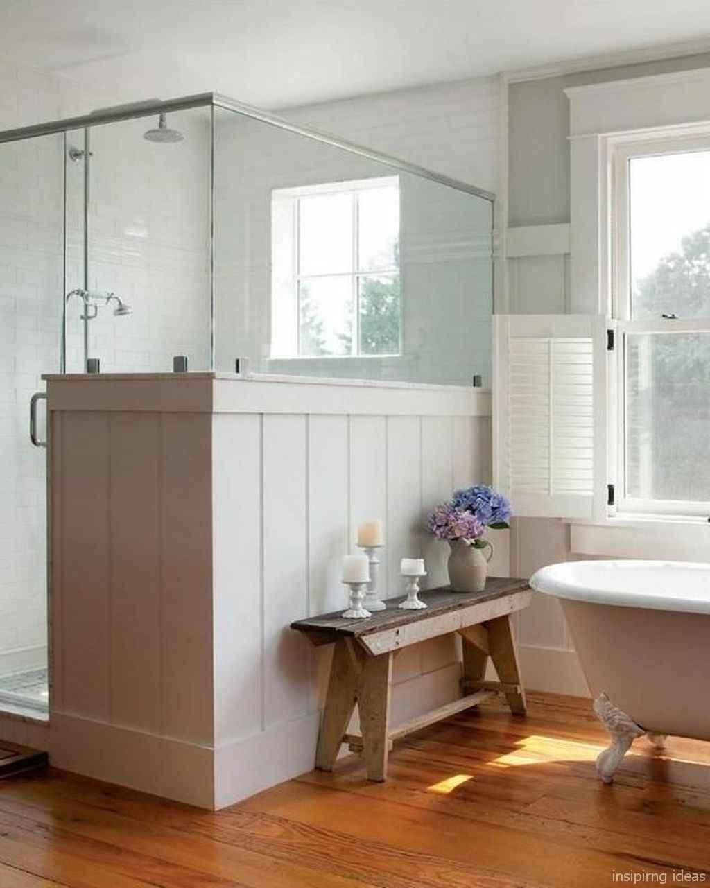 77 Best Modern Farmhouse Master Bathroom Design Ideas