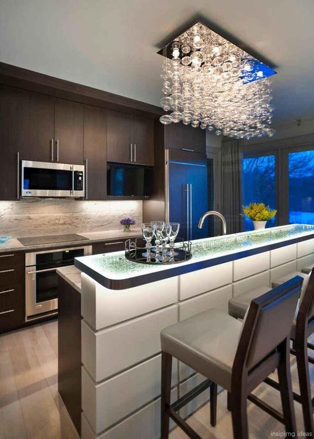 82 Fabulous Modern Kitchen Island Ideas