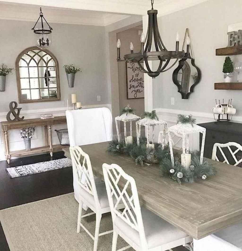 04 Beautiful Modern Farmhouse Dining